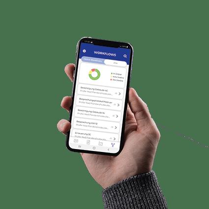 Datenpool-App_mobile Projektabwicklung